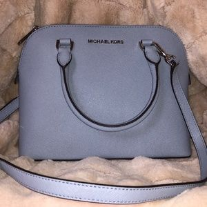 NWT MICHAEL KORS Satchel/Cross Body Bag (Blue)